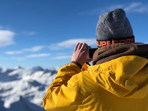 คลังภาพถ่ายฟรี ของ การถ่ายภาพ, การผจญภัย, การพักผ่อนหย่อนใจ, การเล่นสกี