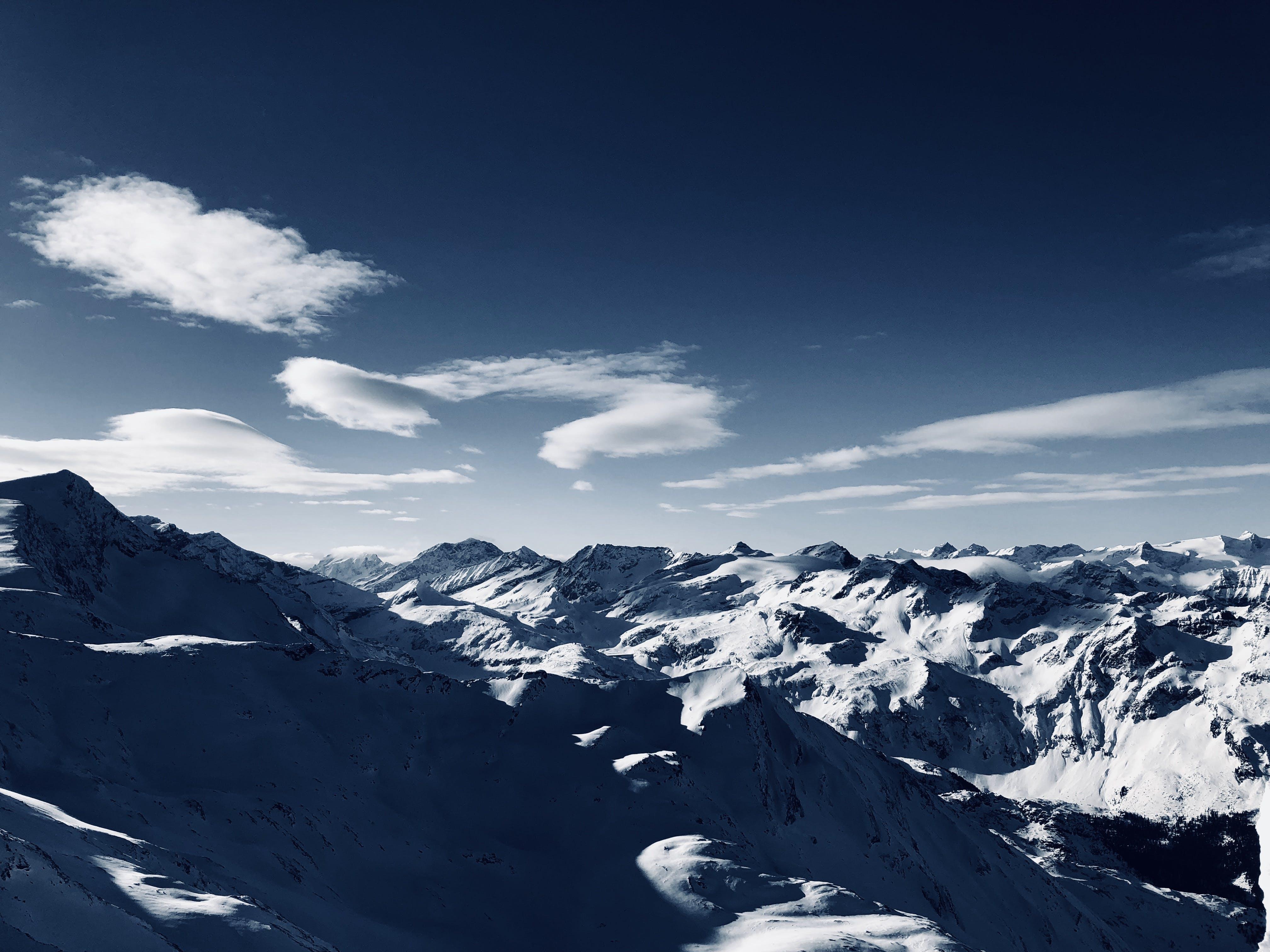 High-angle Photo of Mountain