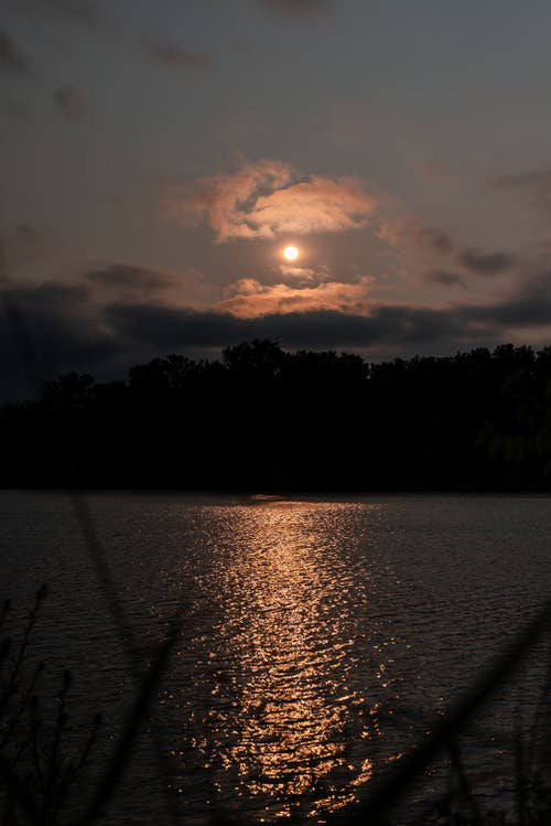 Gratis arkivbilde med daggry, elv, innsjø