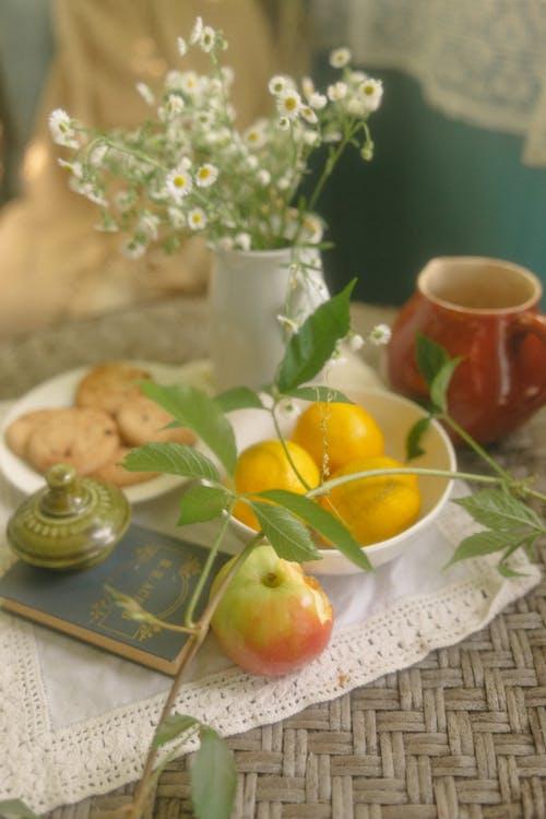 Ingyenes stockfotó alma, apple, asztal témában