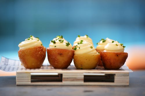 Cream Stuffed Potatoes