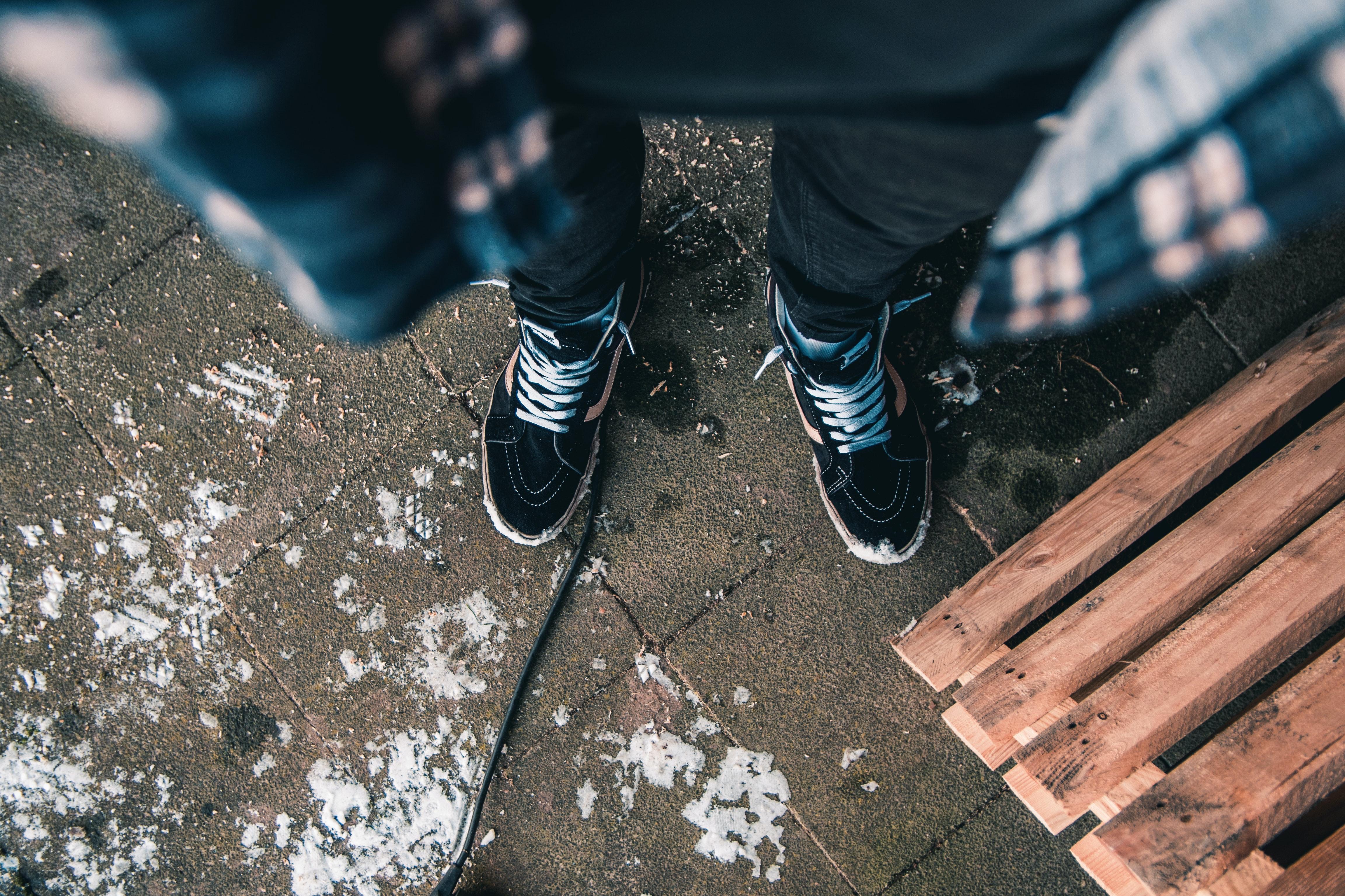 Men Black Jeans