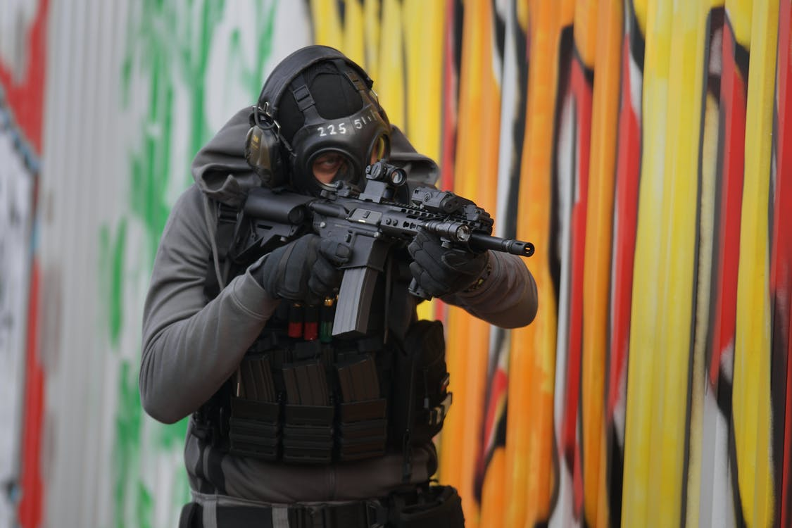 Free stock photo of aimpoint, airsoft, army