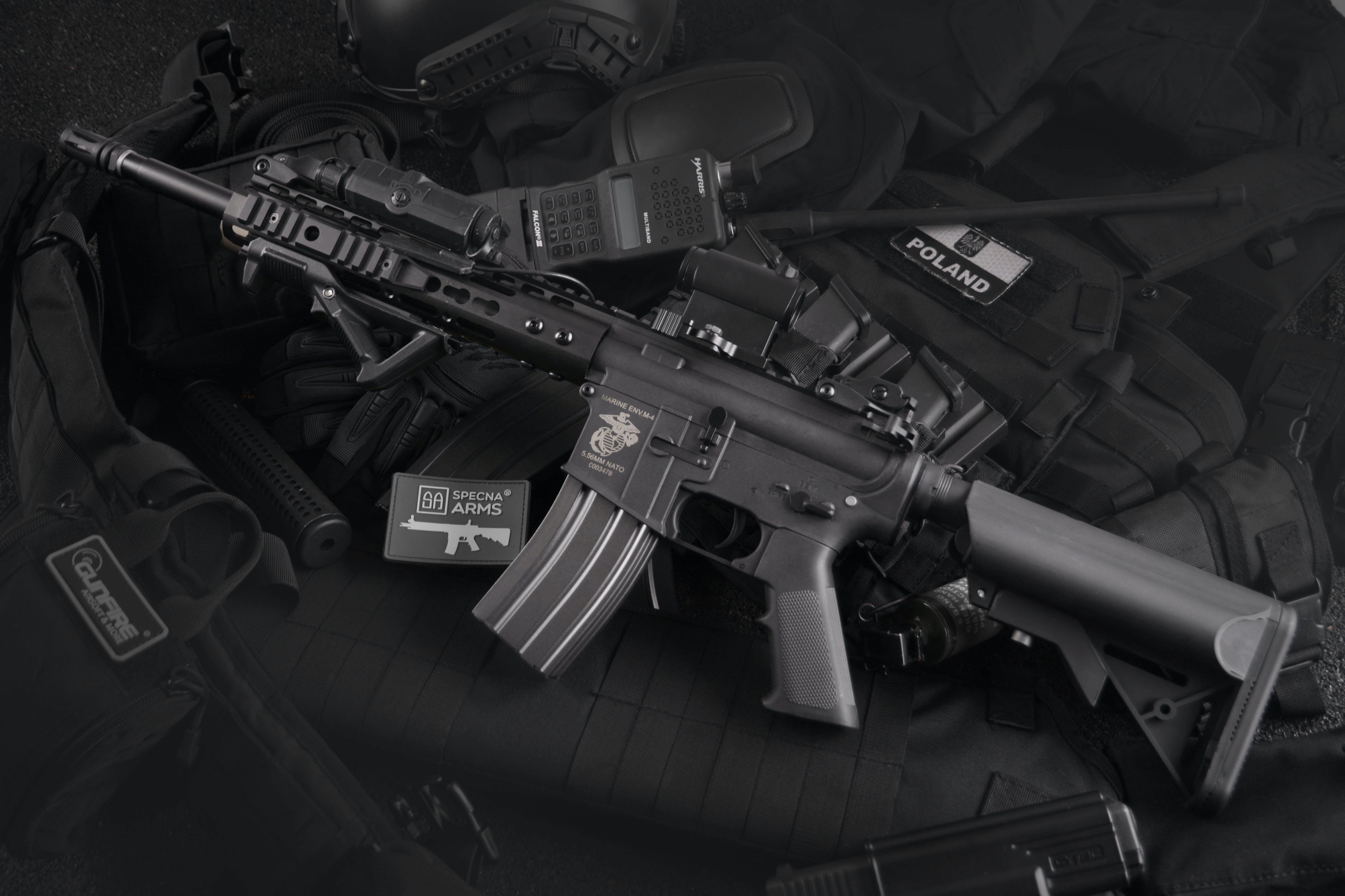 Kostenloses Stock Foto zu airsoft, angriff, armee, bewaffnung