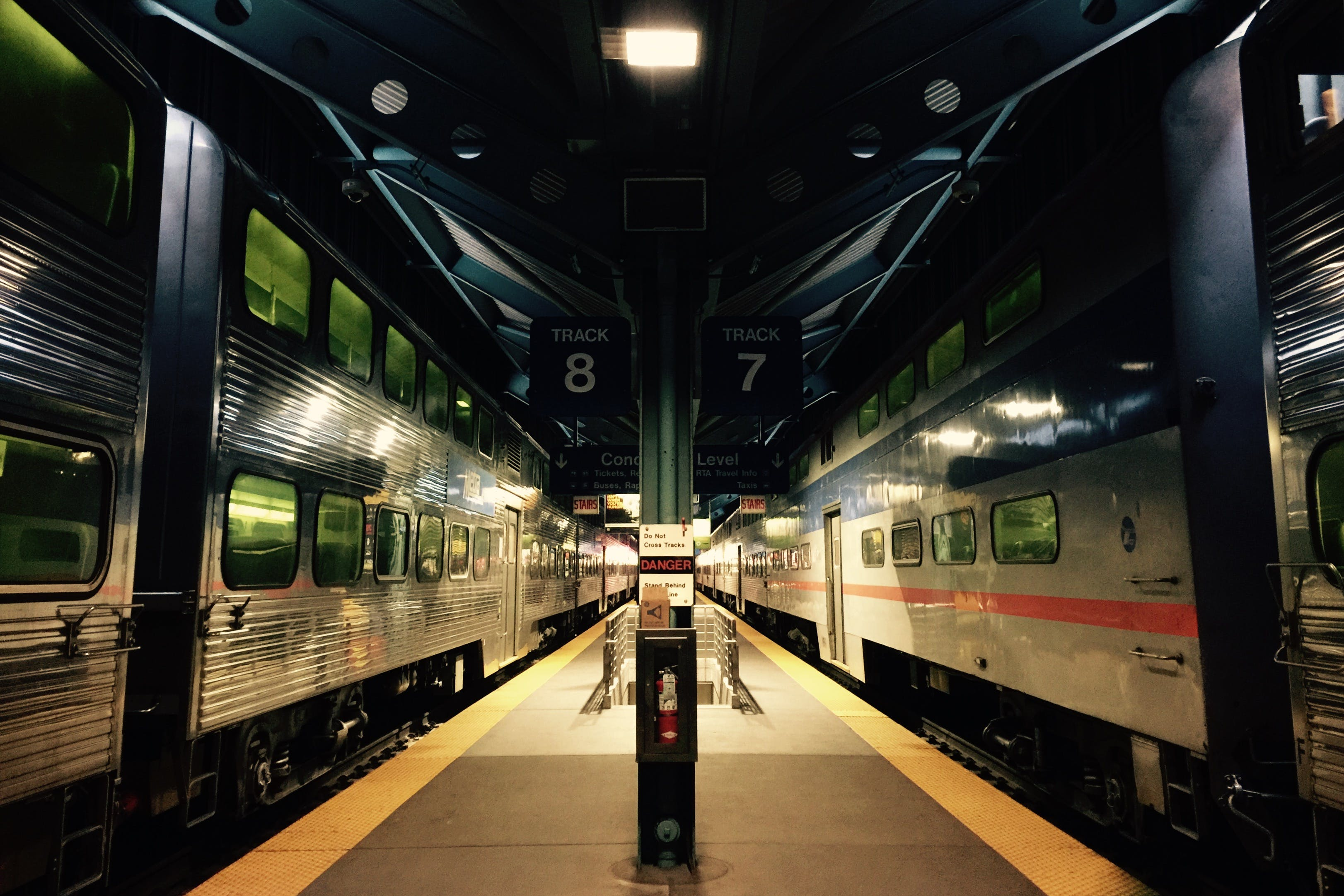 Train Station Illustration