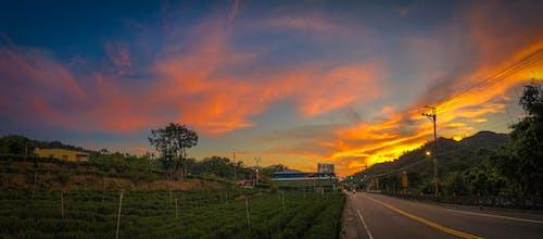 Darmowe zdjęcie z galerii z droga, malowniczy, niebo, panoramiczny