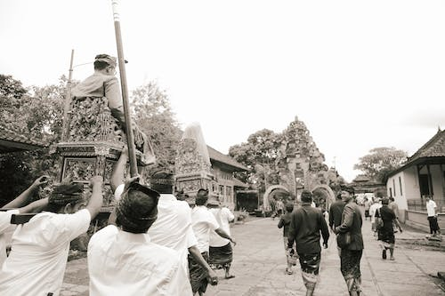 Free stock photo of bali, balinese, black and white