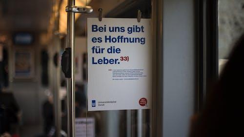 Foto stok gratis iklan, kereta listrik, poster, transportasi umum