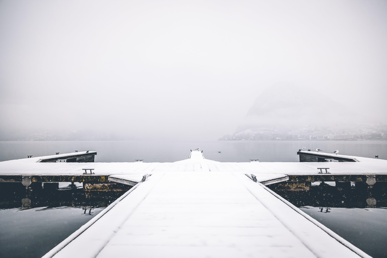 Snow Dock Port Photography