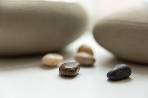 A Close Up of Pebbles