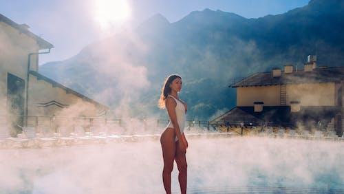 Immagine gratuita di acqua, adulto, alba