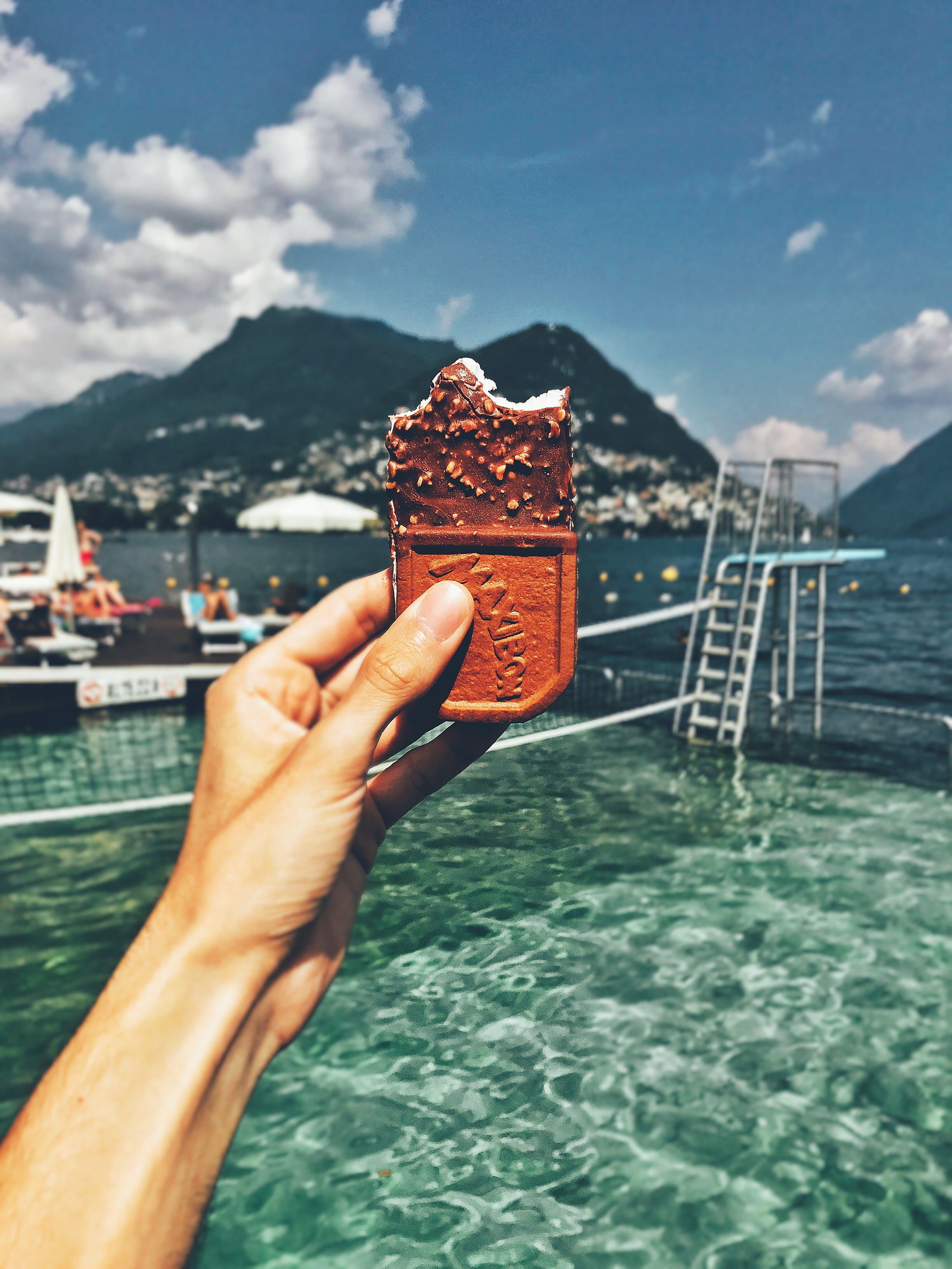 Základová fotografie zdarma na téma čokoláda, dovolená, fotografie jídla, gastroporno