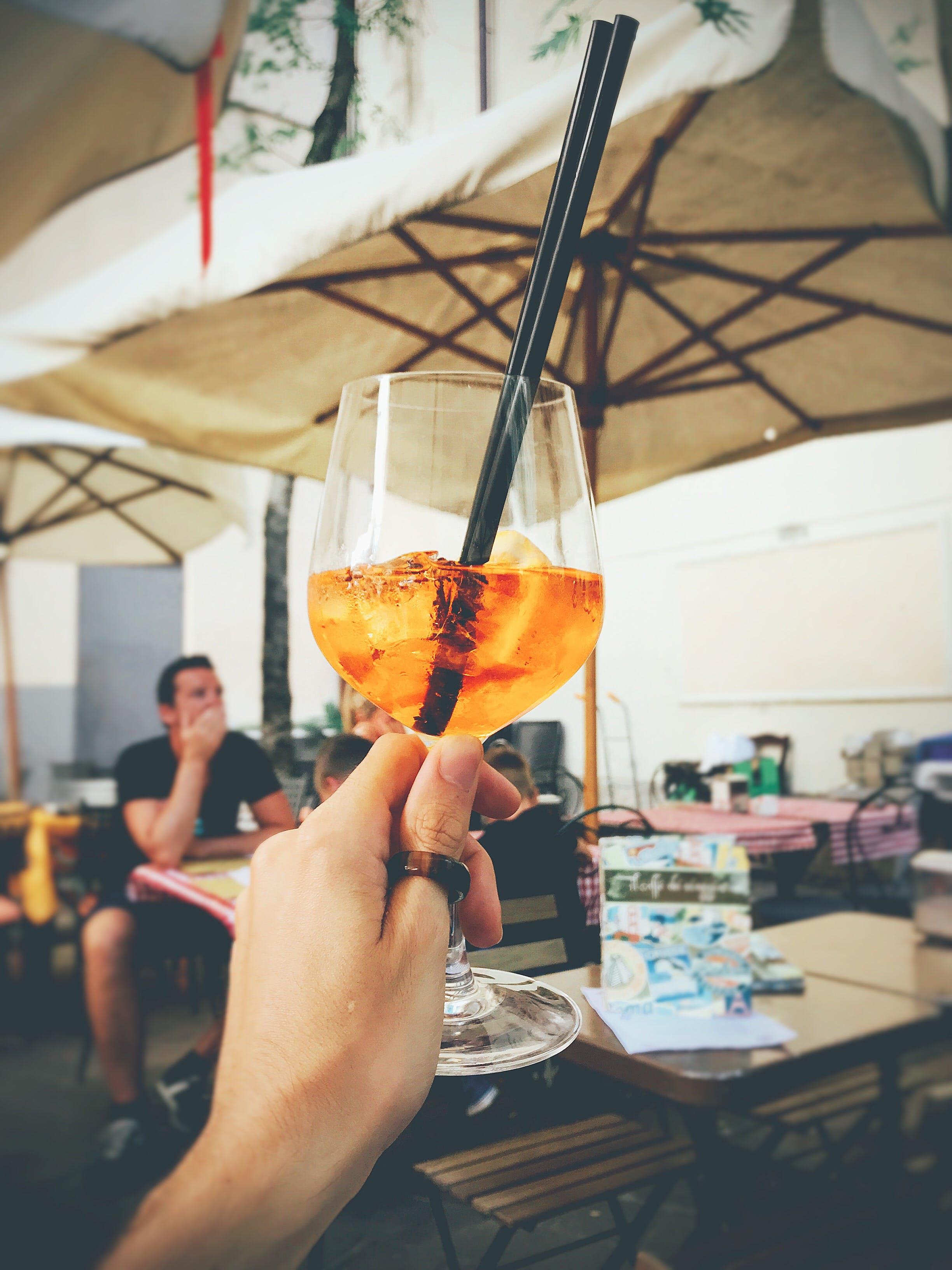 Foto stok gratis gelas anggur, gelas minum, mobilechallenge, Sedotan