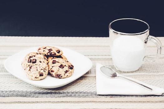 Kostenloses Stock Foto zu essen, teller, tasse, getränk