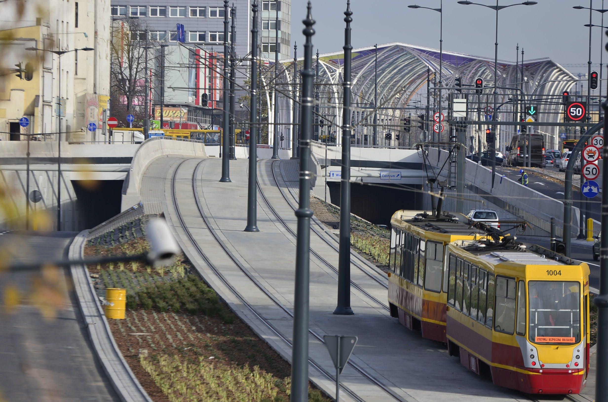 Free stock photo of city, Konrad Ciężki, rails, street