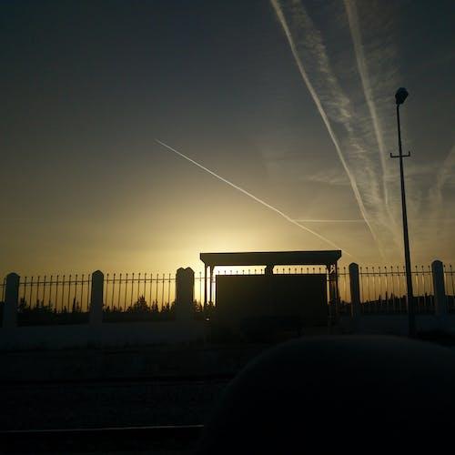 Immagine gratuita di #mobilechallenge, mobilechallenge, sole, tramonto
