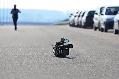 kamera, kişi, makro, yakından içeren Ücretsiz stok fotoğraf