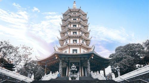 Δωρεάν στοκ φωτογραφιών με αρχιτεκτονική, Ασία, δέντρα, ημέρα