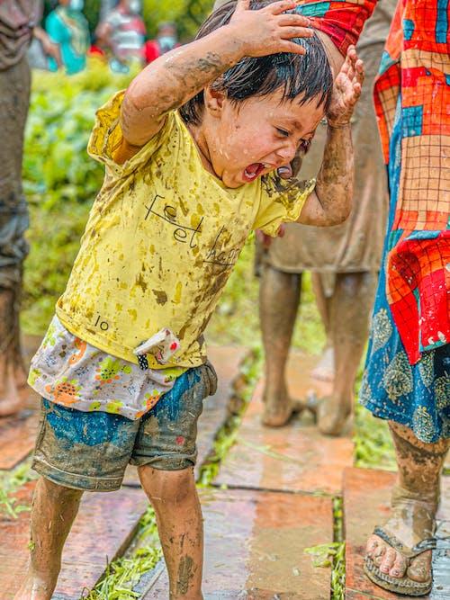 Free stock photo of beautiful, child, children playing