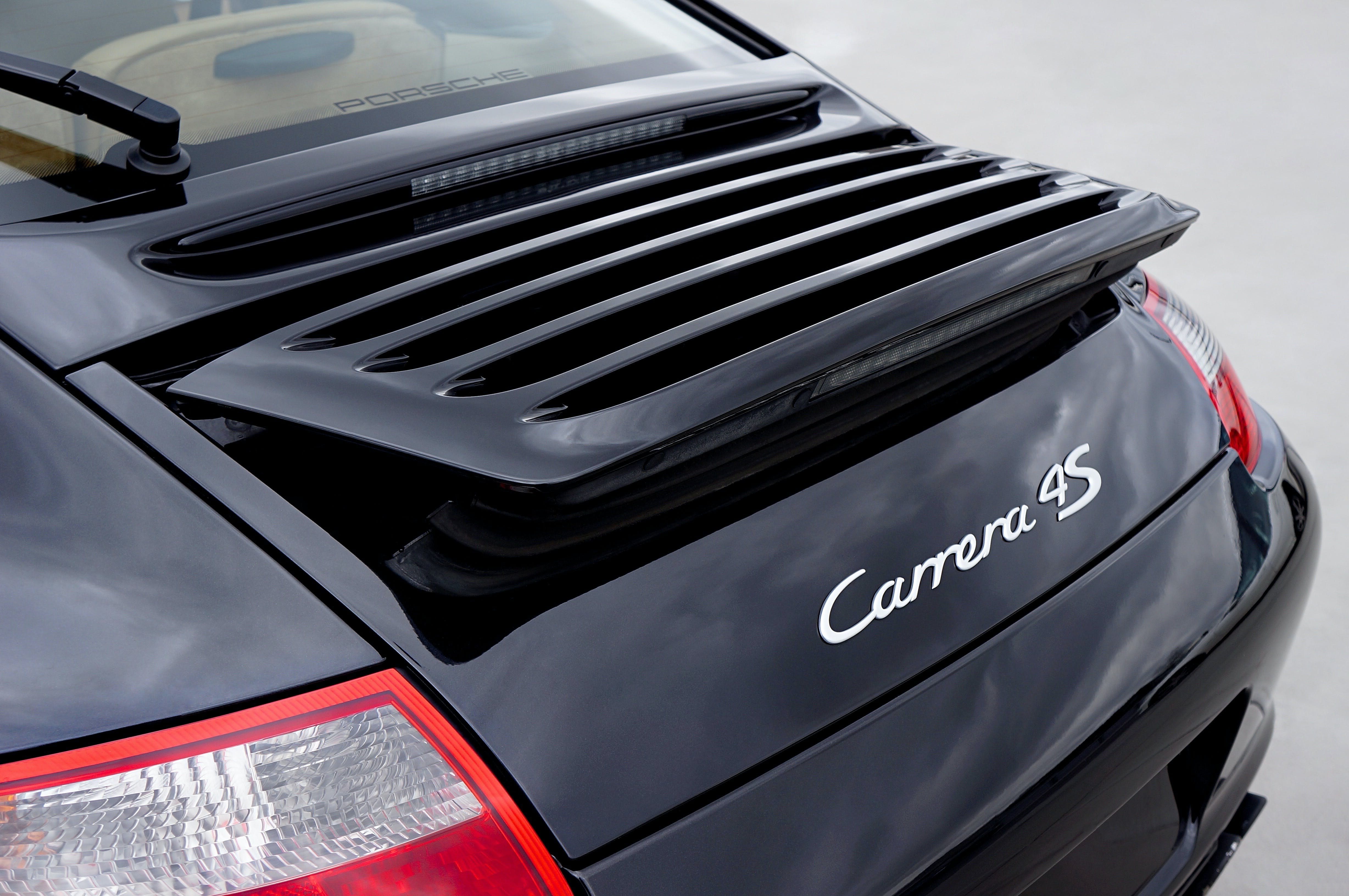 Black Carrera 4s Car