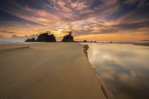 Základová fotografie zdarma na téma moře, oceán, odraz, písek