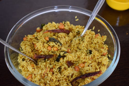 Free stock photo of indian food, Tamarind Rice