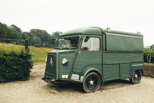 Δωρεάν στοκ φωτογραφιών με camper, logistics, vintage