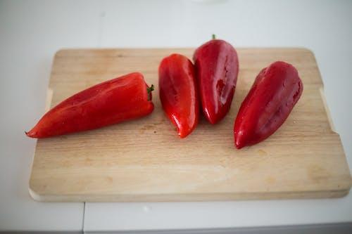 Základová fotografie zdarma na téma červená, červené papriky, chili, jídlo