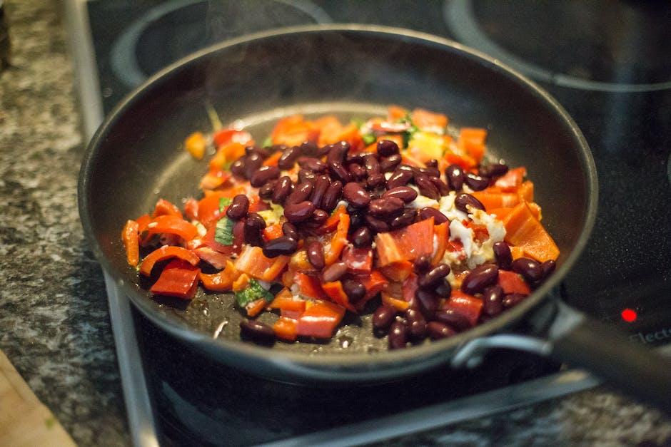 Vegetable Dish on Frying Pan