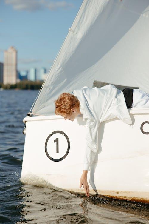 人, 假期, 在水上 的 免费素材图片