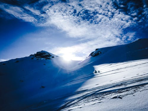 Základová fotografie zdarma na téma Alpy, mraky, Rakousko, sníh