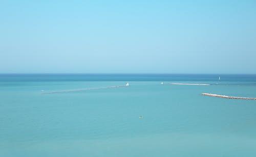 Foto stok gratis air, berselancar, biru