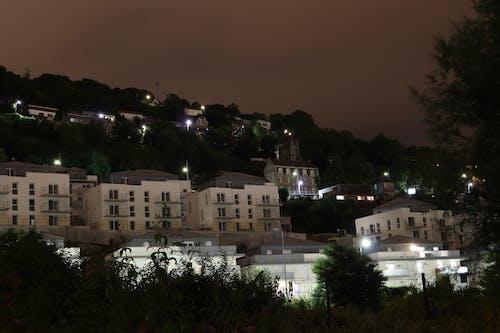Fotobanka sbezplatnými fotkami na tému centrum mesta, nočný čas