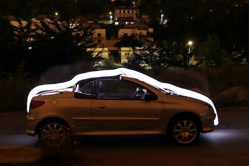 Fotobanka sbezplatnými fotkami na tému auto, cabrio, nočný čas