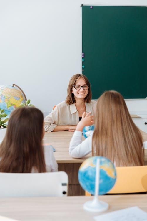 Free stock photo of adolescent, child, classroom