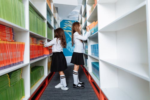 Free stock photo of adolescent, bookcase, child