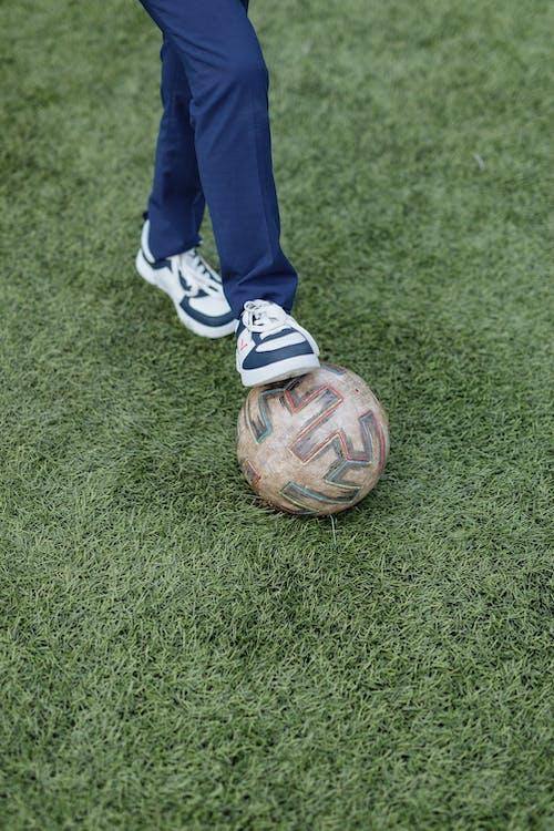 Free stock photo of athlete, ball, child