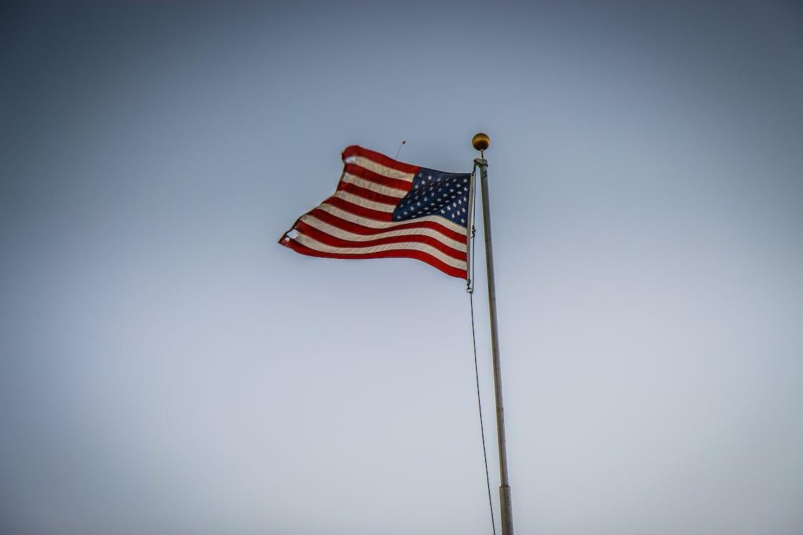 administration, Amerikansk flag, demokrati