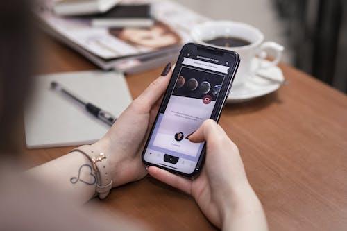 Безкоштовне стокове фото на тему «iPhone X, Інтернет, бездротовий, всередині»