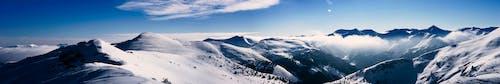 Základová fotografie zdarma na téma Alpy, hora, modrá obloha, panoráma