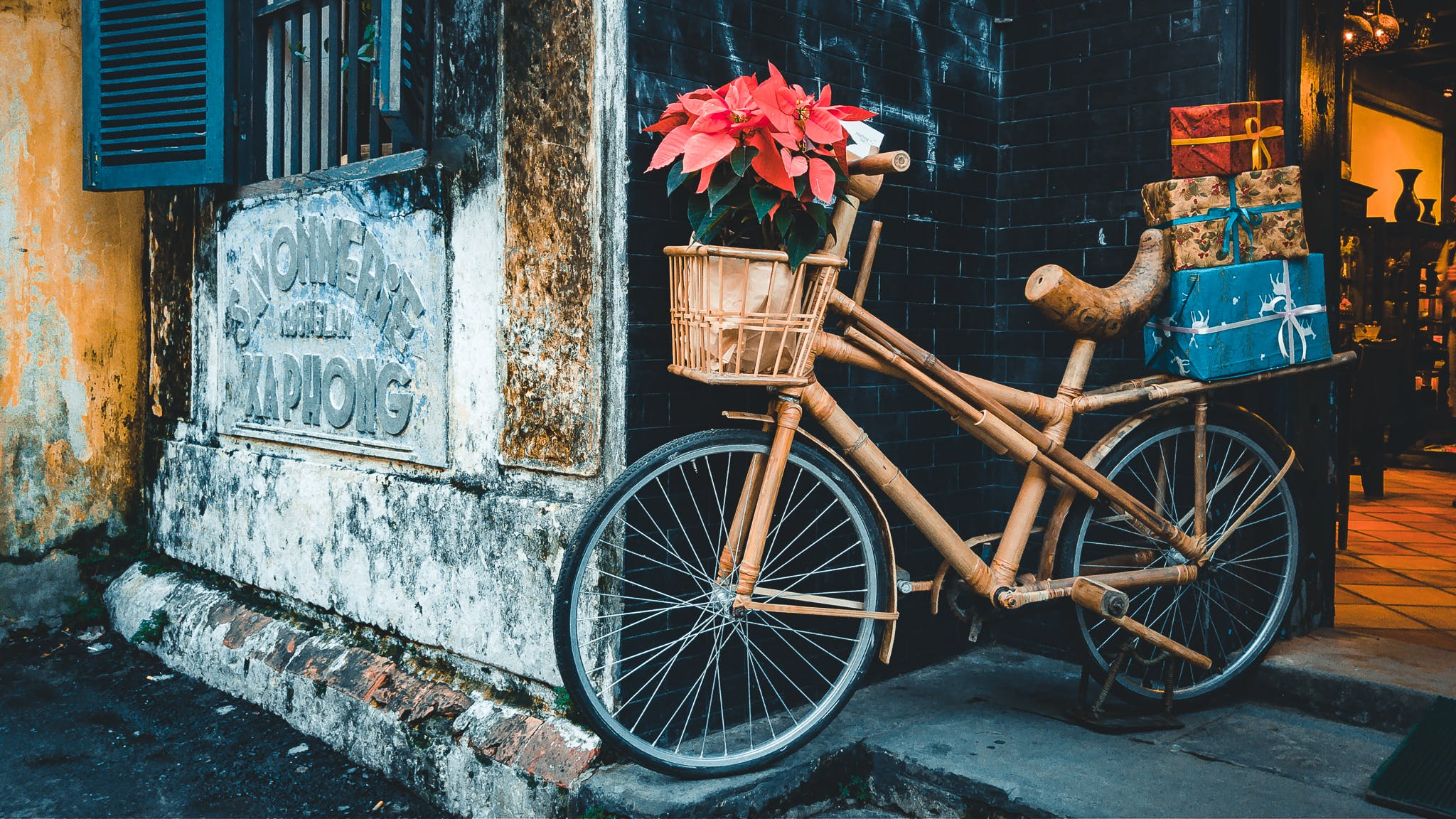Free stock photo of accident, bicycle, old