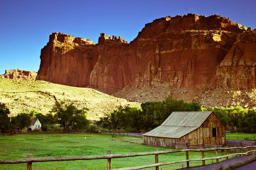 キャビン, キャピタルリーフ, 岩, 砂漠のキャビンの無料の写真素材