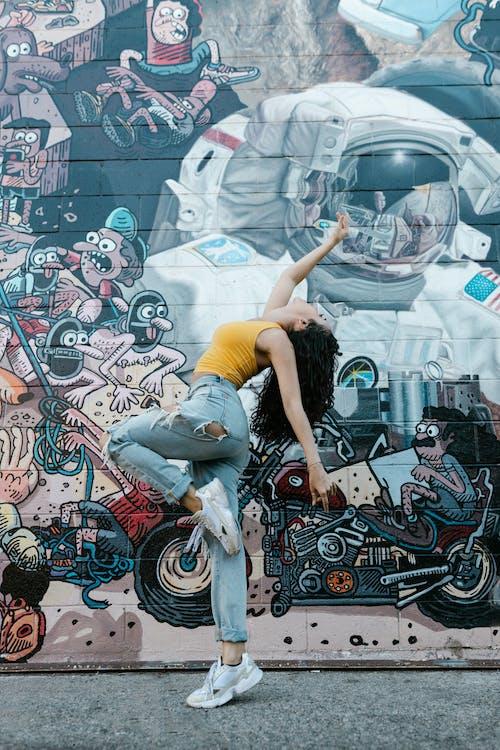 Foto d'estoc gratuïta de art, artístic, astronauta