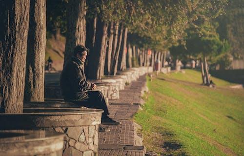 Základová fotografie zdarma na téma denní světlo, osoba, park, postarší