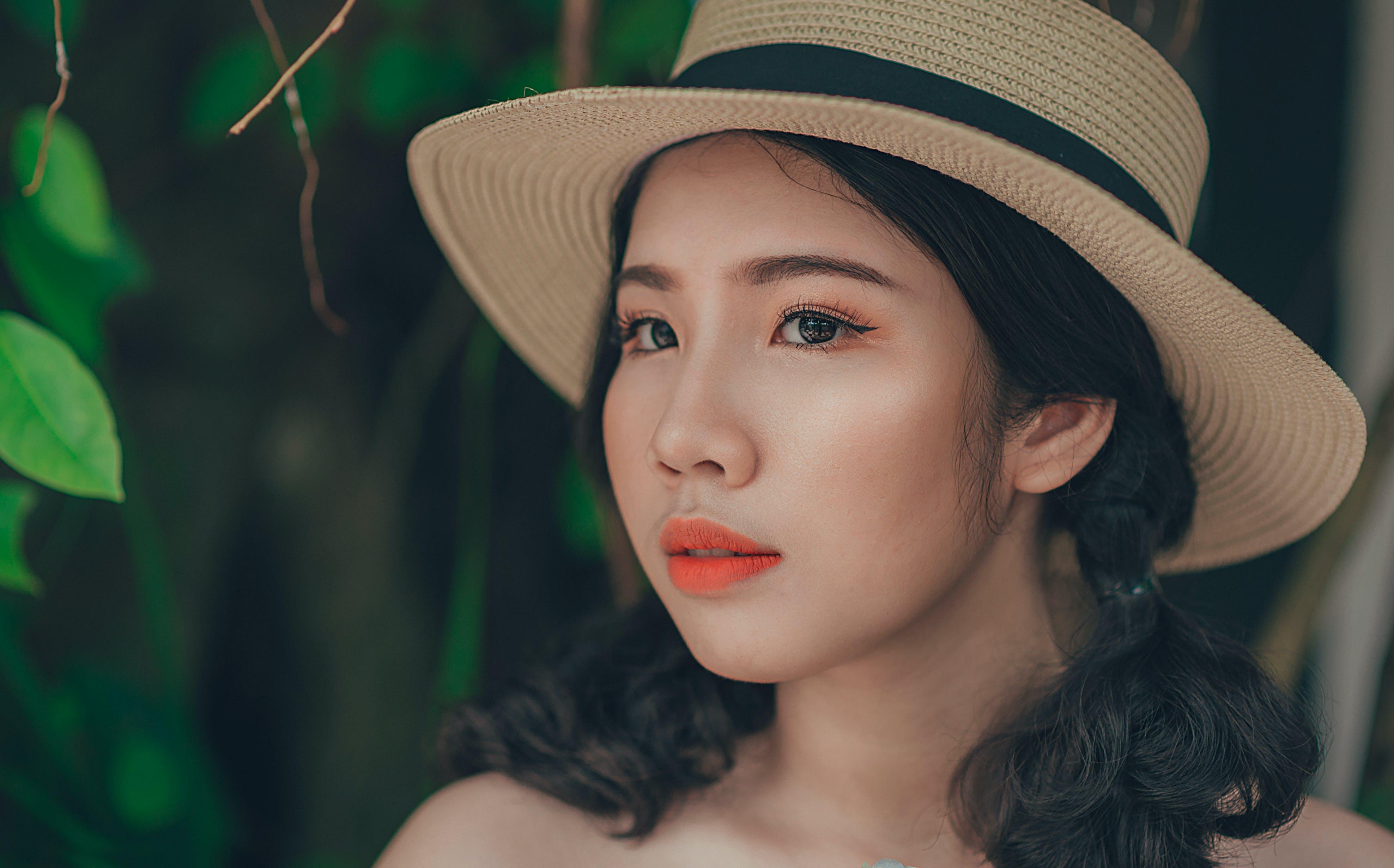 Gratis lagerfoto af dame, hat, kvinde, person