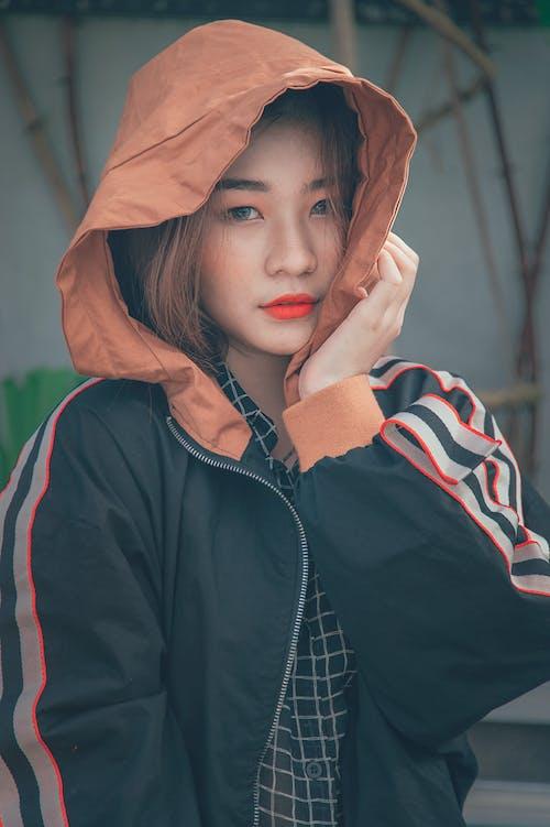 Fotobanka sbezplatnými fotkami na tému Ážijčanka, ázijské dievča, bunda, človek