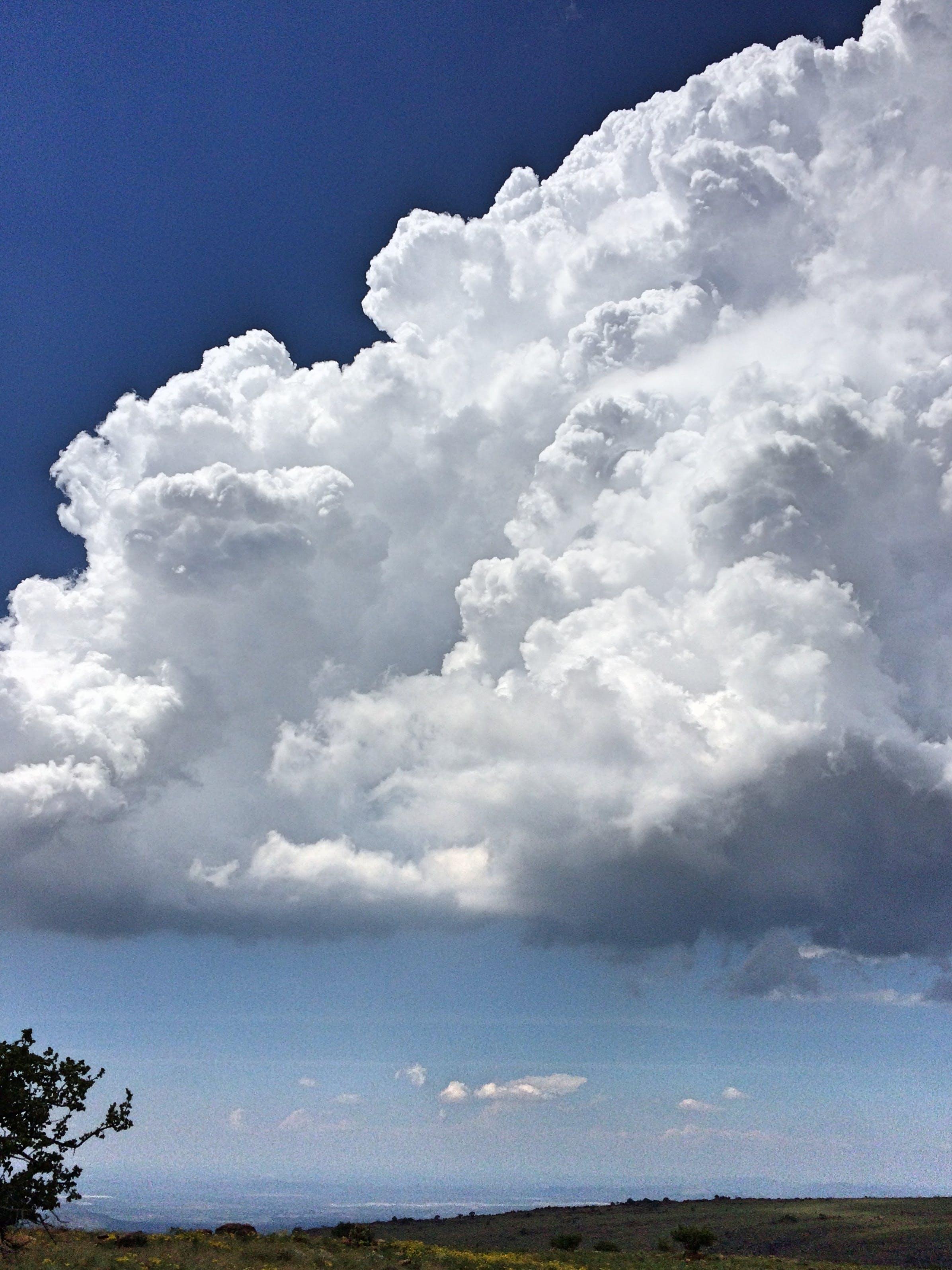 blanco, cielo, naturaleza