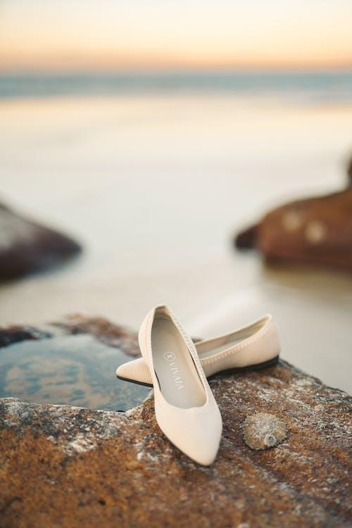 一雙鞋, 假期, 反射 的 免費圖庫相片