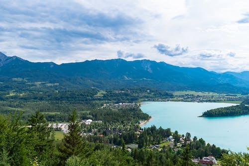Free stock photo of aerial, alpine, alps