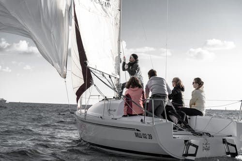 Free stock photo of boat, boatman, leisure